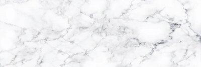 Naklejka Naturalny biały marmur tekstury na tapetę ze skóry luksusowego tła, do prac projektowych. Projekt wnętrz kamiennych ceramicznych ścian. Marmur o wysokiej rozdzielczości