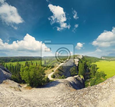 Naturalny krajobraz