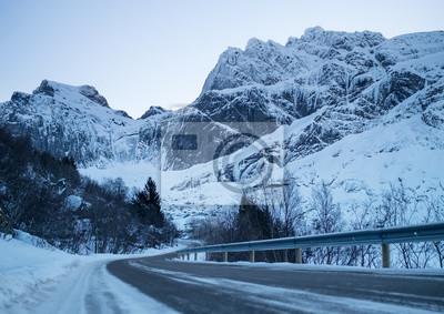 Naturalny krajobraz w Norwegii