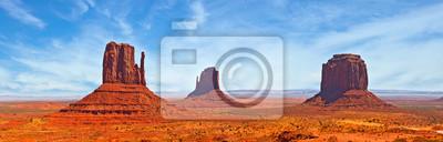 Naklejka Nature in Monument Valley Navajo Park, Utah USA