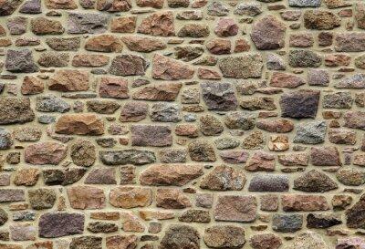 Naklejka Natursteinmauer