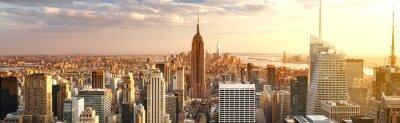 Naklejka New York City skyline