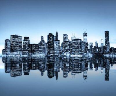 Naklejka New York Skyline.