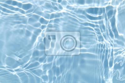 Naklejka Niebieska woda fala tekstury t? A