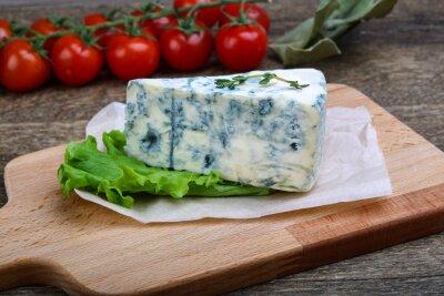 Naklejka Niebieski ser