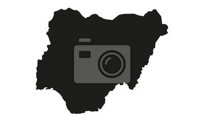 Naklejka Nigeria