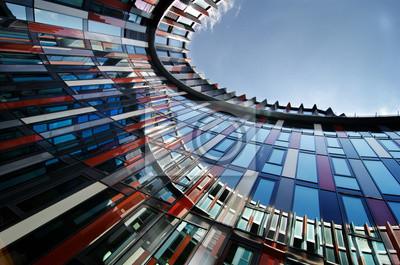 Naklejka nowoczesna architektura
