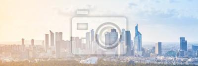 Naklejka Nowoczesne pejzaż, panoramiczny tła