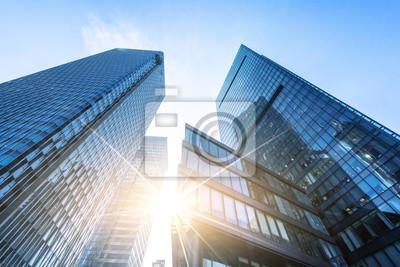 Naklejka nowoczesny budynek biurowy