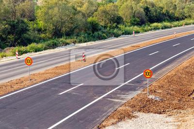 Naklejka Nowy asfalt