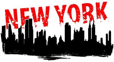 Naklejka Nowy Jork