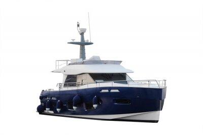 Naklejka Obraz łodzi
