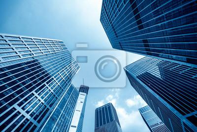 Naklejka Office tall building