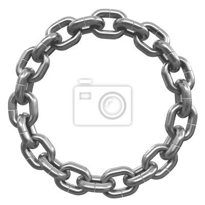 Naklejka ogniwa zjednoczeni w pierścieniu