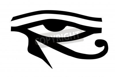 Oko Horusa Plemiennych Tatuaż Naklejki Redro