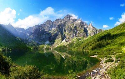 Naklejka Oko jeziora Morza w Tatrach, Polska