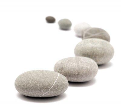 Naklejka okrągłe kamienie