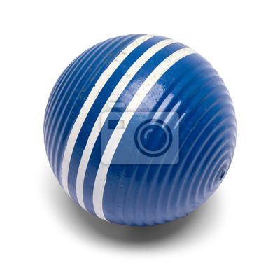 Old Blue Croquet Ball