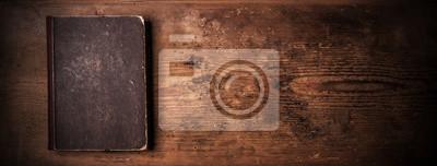 Naklejka Old book