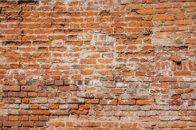 Naklejka Old brick wall for background