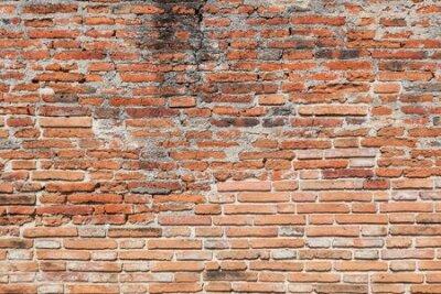 Naklejka Old brick wall texture background.