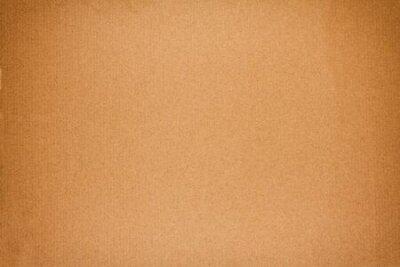 Naklejka Old brown cardboard texture or background