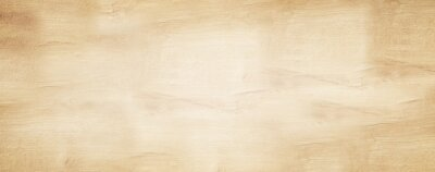 Naklejka old brown rustic light bright wooden maple texture - wood background panorama banner long