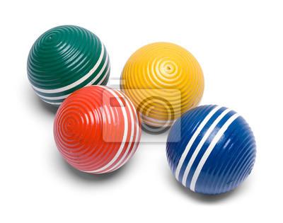 Old Croquet Balls