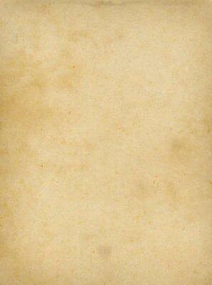 Naklejka Old parchment paper texture background. Vintage wallpaper