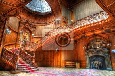 Naklejka old stairs