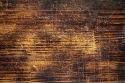 Naklejka Orange wood texture, pine boards, texture or background.