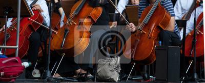 Naklejka Orkiestra