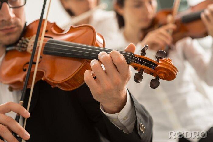 Naklejka Orkiestra sekcja ciąg jego efektywności
