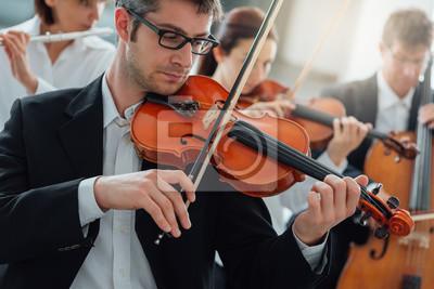 Naklejka Orkiestra sekcja ciąg pełniący