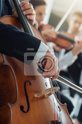 orkiestra symfoniczna, sekcja smyczkowa