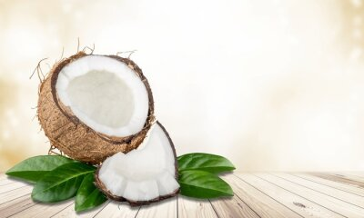 Naklejka Orzech kokosowy.