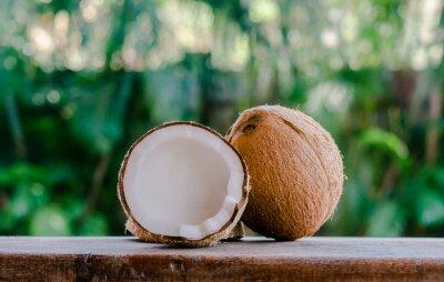 Naklejka Orzechy kokosowe
