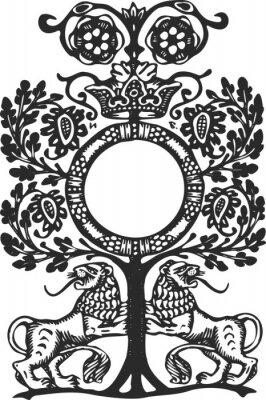 Naklejka Ozdoba - Biblin