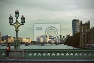 Naklejka Panorama londinese