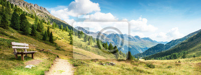 Naklejka panorama montano delle dolomiti