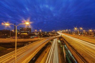 Panorama widok na drogach Belgrad