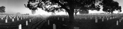 Naklejka Panoramic View Of Fort Rosecrans National Cemetery