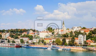 Naklejka Panoramiczny Widok Belgrad Serbia