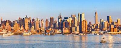 Naklejka Panoramiczny widok na Manhattan