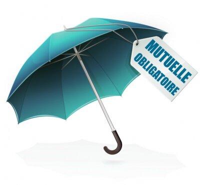 Naklejka Parapluie mutuelle obligatoire