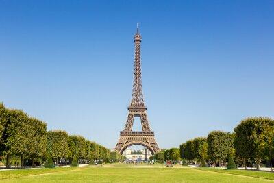Naklejka Paris Eiffel tower France travel landmark