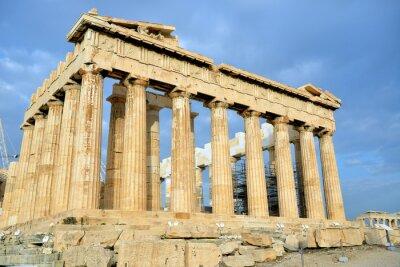 Naklejka Partenon na Akropolu w Atenach