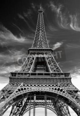 Naklejka Paryż, Francja.