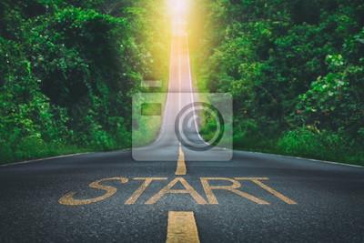 Naklejka Path way
