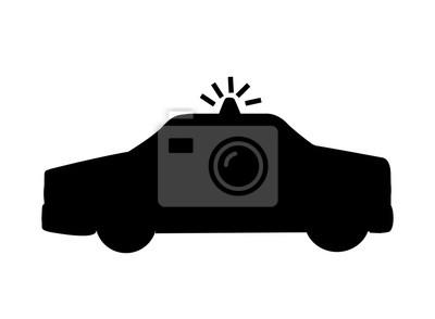 patrol policyjny pojedyncze ikony projektowania